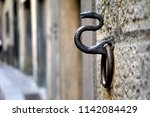 Old Rusty Snake Sculpture Wall...