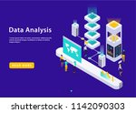 ultraviolet isometric high... | Shutterstock .eps vector #1142090303