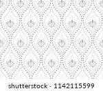 floral pattern. vintage... | Shutterstock .eps vector #1142115599