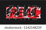 fake word hidden under ripped...   Shutterstock .eps vector #1142148239