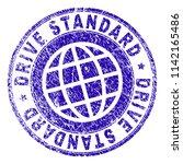 drive standard stamp imprint... | Shutterstock .eps vector #1142165486