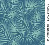 palm. seamless pattern from... | Shutterstock .eps vector #1142195939