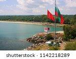 rezovo bulgaria 22 july 2018... | Shutterstock . vector #1142218289
