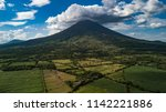 volcano chaparrastique  el...   Shutterstock . vector #1142221886