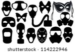 Collage Of Different Masks...