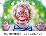 Face Art Painting Like Tiger ...