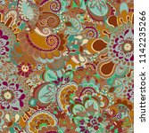 abstract fashion crazy exotic...   Shutterstock .eps vector #1142235266