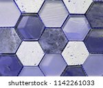 combination of glass and stone... | Shutterstock . vector #1142261033