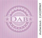 dab vintage pink emblem | Shutterstock .eps vector #1142289869
