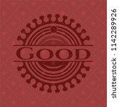 good red emblem. vintage.   Shutterstock .eps vector #1142289926