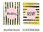 bridal shower card with dots... | Shutterstock .eps vector #1142306366