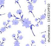 watercolor seamless pattern... | Shutterstock . vector #1142314910
