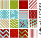 holiday background patterns in... | Shutterstock .eps vector #1142346350