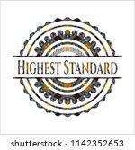 highest standard arabic style...   Shutterstock .eps vector #1142352653