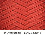 Red Plastic Surface Pattern...