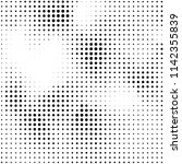abstract halftone texture.... | Shutterstock .eps vector #1142355839