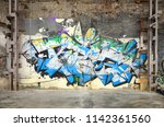 Street Art. Abstract Background ...