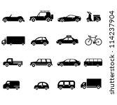 car  transportation   Shutterstock .eps vector #114237904
