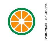 Lemon Logo. Orange Icon. Lime...