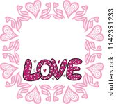 love. vector illustration | Shutterstock .eps vector #1142391233