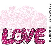 love. vector illustration | Shutterstock .eps vector #1142391686