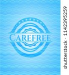 carefree water concept style... | Shutterstock .eps vector #1142395259