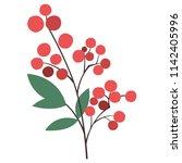 a heavenly bamboo | Shutterstock .eps vector #1142405996
