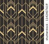 vector modern geometric tiles... | Shutterstock .eps vector #1142407619