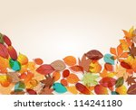 vector cute  colorful  hand... | Shutterstock .eps vector #114241180