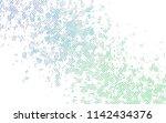 light blue  green vector cover... | Shutterstock .eps vector #1142434376