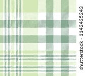 seamless plaid check pattern in ... | Shutterstock .eps vector #1142435243