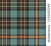 seamless plaid pattern in... | Shutterstock .eps vector #1142435249