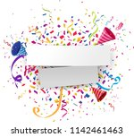 celebrations background with... | Shutterstock . vector #1142461463
