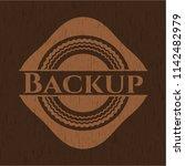 Backup Wooden Emblem. Retro