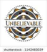 unbelievable arabic style... | Shutterstock .eps vector #1142483039