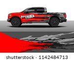 truck and vehicle graphic decal ...   Shutterstock .eps vector #1142484713