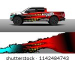 truck and vehicle graphic decal ...   Shutterstock .eps vector #1142484743
