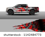 truck and vehicle graphic decal ...   Shutterstock .eps vector #1142484773