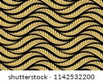 the geometric pattern with wavy ... | Shutterstock .eps vector #1142532200