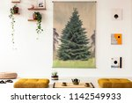 real photo of a japanese poster ... | Shutterstock . vector #1142549933