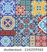 vintage tiles for decorative... | Shutterstock .eps vector #1142559563