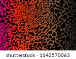 safari dreams. grunge... | Shutterstock .eps vector #1142570063