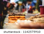 depth of field photo of blurred ... | Shutterstock . vector #1142575910