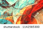 bright dynamic background.... | Shutterstock . vector #1142585300
