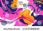 vector abstract pattern for...   Shutterstock .eps vector #1142588840