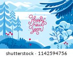 vector illustration in trendy... | Shutterstock .eps vector #1142594756