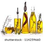assortment of cooking oil | Shutterstock . vector #114259660