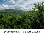 beautiful landscape view of the ... | Shutterstock . vector #1142598656