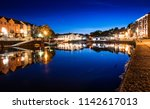Exeter Quay By Night