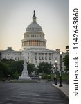 united states capitol  ... | Shutterstock . vector #1142643860
